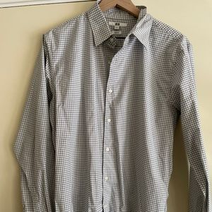 Lot of 3 Uniqlo Long Sleeve Button Up Shirts